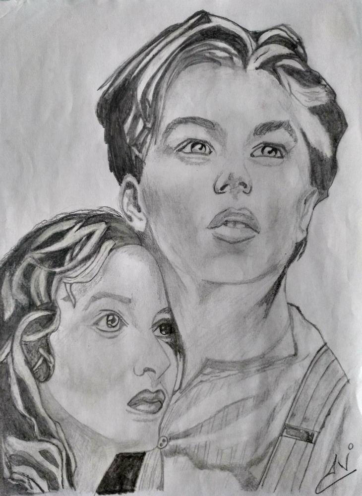 Kate Winslet, Leonardo DiCaprio by Nereaaj